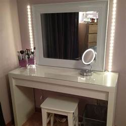 Makeup Vanity Table With Lights Moderner Schminktisch Mit Spiegel H 252 Bsche Fotos