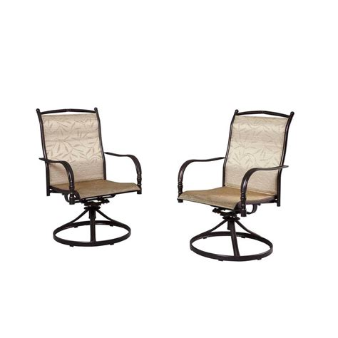 motion patio chairs hton bay chairs altamira tropical motion patio dining