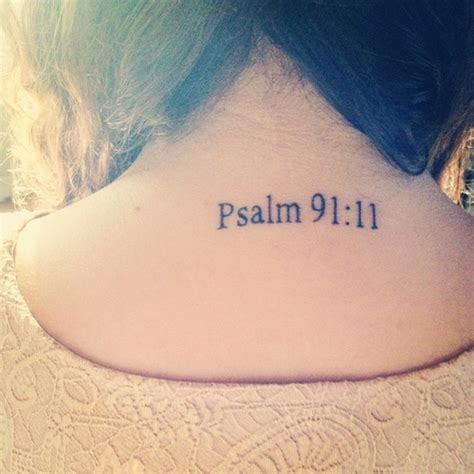 psalm 91 tattoo psalm but i would do psalm 46 5 because sometimes