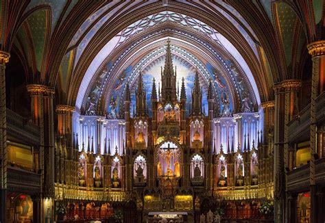 notre dame de interno interno della basilica di notre dame de montr 233 al viaggi