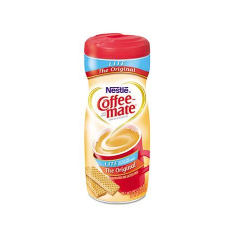 Coffee Mate Shelf by Coffee Mate Original Lite Powdered Creamer Nes74185