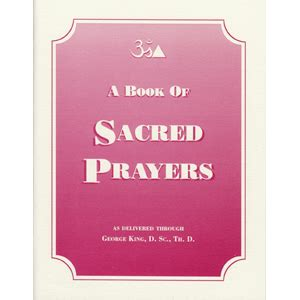A Book Of Prayers A Book Of Sacred Prayers The Aetherius Society