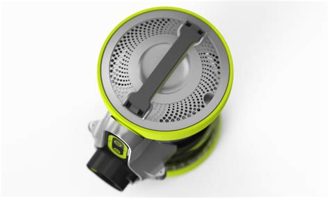 designboom vax vax air revolve vacuum rolls and flips to provide 360