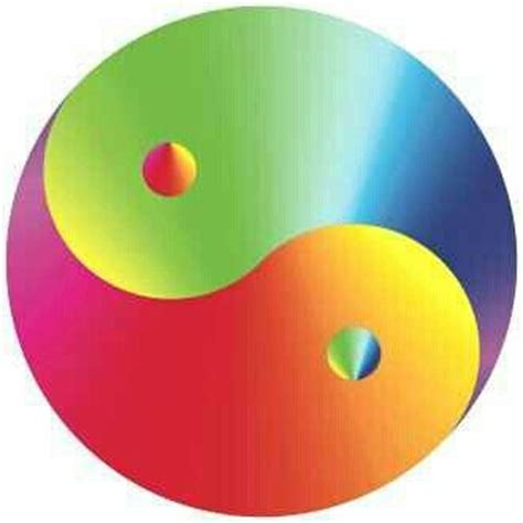 colorful yin yang 45 best images about yin yang on medicine