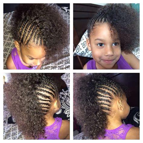 braided hairstyles for biracial kids cornrows mixed girl toddler halfro hairstyles lil