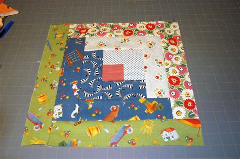 log cabin patchwork easy log cabin quilt block pattern