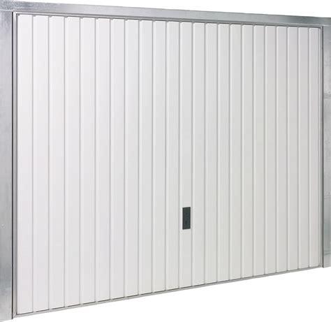 porta basculante garage porte de garage basculante blanche h200xl240 bricoman