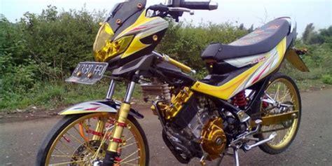 motor mio bunyi tek tek modifikasi motor dan mobil modifikasi motor suzuki pilih modifikasi satria fu