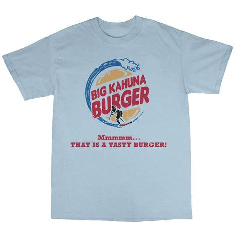 Burger Tshirt big kahuna burger t shirt premium cotton reservoir dogs