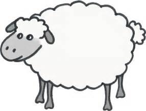 sheep template sheep template clipart best