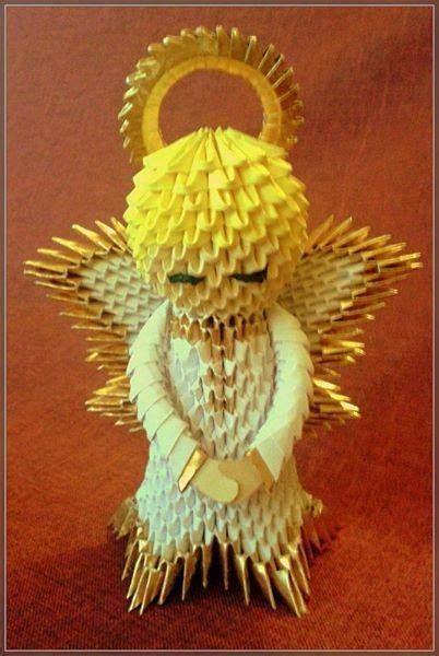 tutorial origami angel pin by monika moje on moje prace pinterest