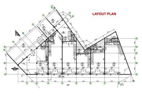 denah layout cafe ruko 3 lantai minimalis modern denah dan tak