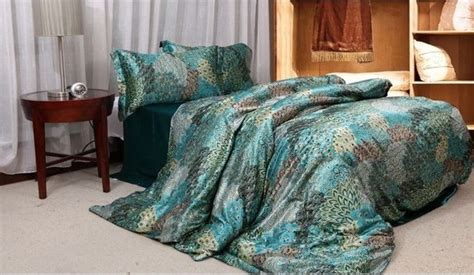 feather bedding popular peacock feather bedding buy cheap peacock feather