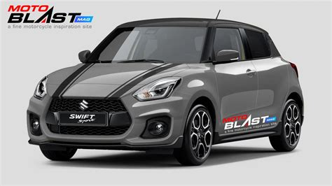 modifikasi striping suzuki swift ala mini cooper motoblast
