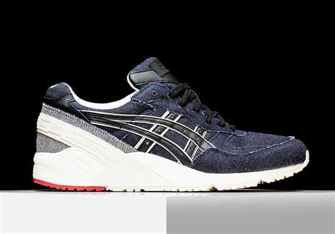 Asics Gel Lyte Iii Selvedge Navy asics gel selvedge denim collection sneaker bar detroit