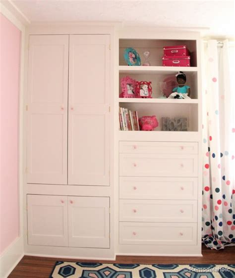 Builtin Closets by Remodelaholic Built In Closet Hack