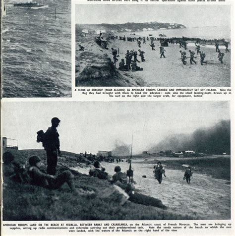 libro operation torch 1942 the headlines from history november military caigns the british newspaper archive blog