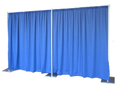 Pipe Drape 8 Tall X 10 Long Backdrop Grand Rental