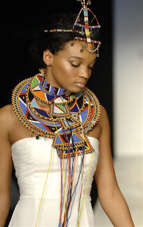 kenyan bridal hairstyles fashionable african ceremonial wedding necklace choker