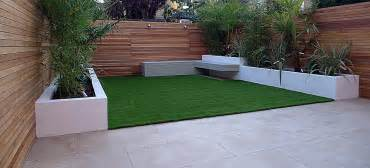 Front Yard Brick Fence Designs - grass london garden design part 3