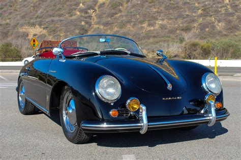 porsche speedster for sale 1956 porsche speedster 356 replica professionally restored