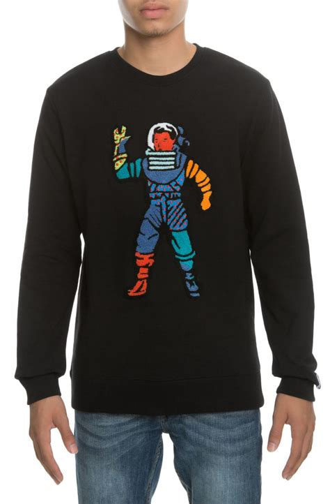 Astro Sweater Black by Billionaire Boys Club Sweater Astro Crew Neck Black