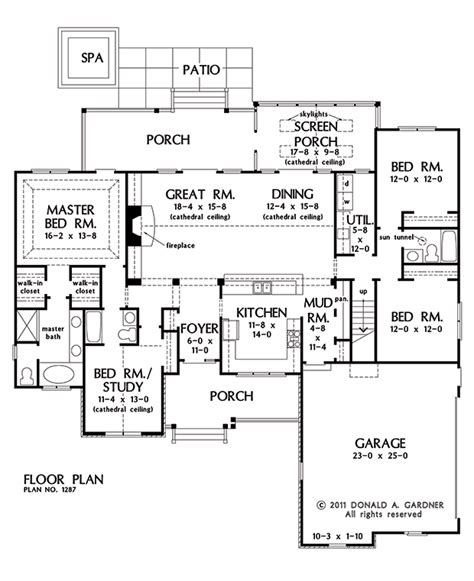 gardner floor plans the hardesty house plan images see photos of don gardner