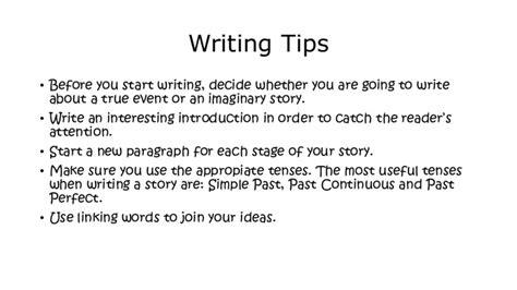 writing a story how to write a story