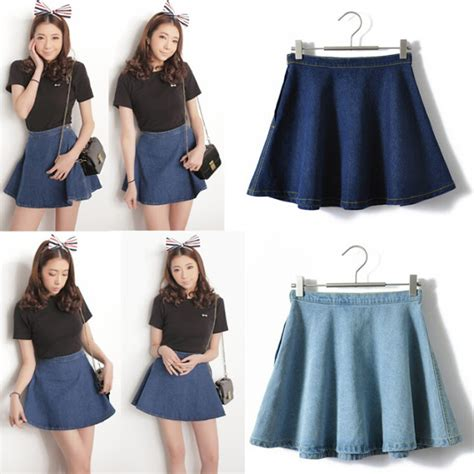 Celana High Waist Pelangsing Diatas Lutut 15 pilihan cantik model rok pendek branded untuk