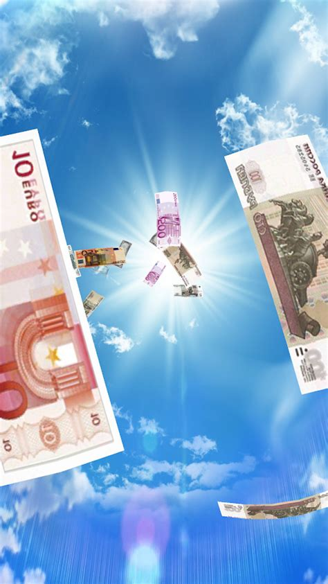 falling money   wallpaper pro android apps