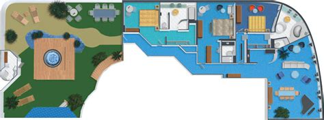 norwegian dawn 3 bedroom garden villa suite eddie s kosher travel