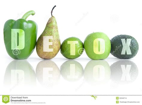Detox With Green Vegetables by Detox Stock Photo Image 55349714