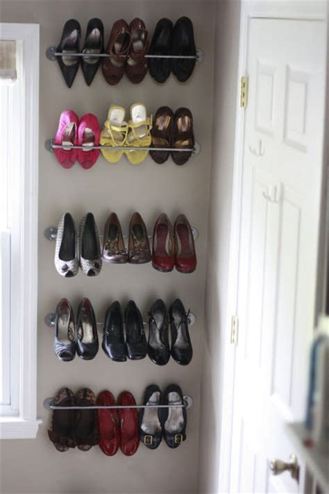 shoe storage diy projects  small spaces decorating