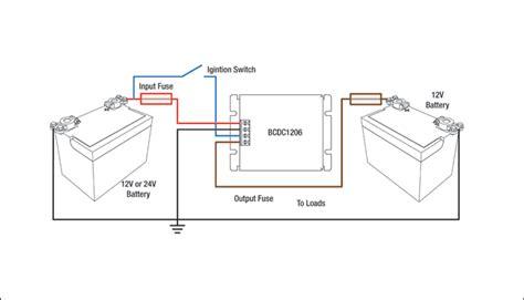 standard bcdc1206 wiring redarc electronics