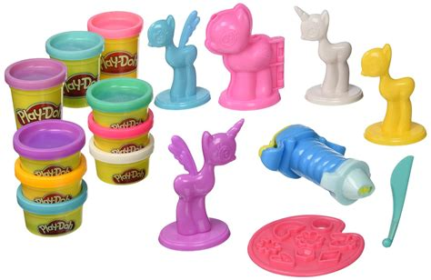 my little pony l play doh my little pony make n style ponies