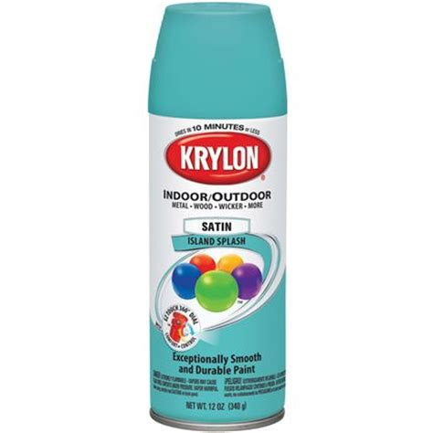krylon satin island splash paint colors aerosol paint satin and islands