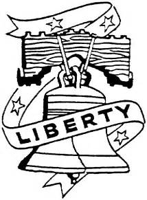 liberty bell coloring page free coloring pages on art