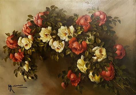 quadri natura morta fiori dipinto natura morta fiori olio su tela di mario