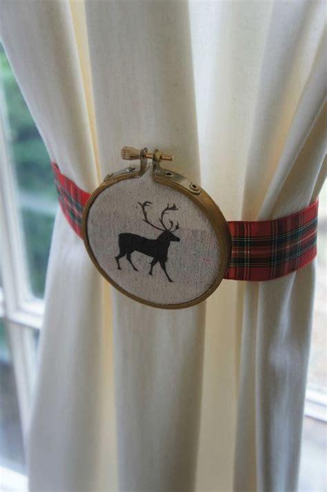 curtain hoops embroidery hoop curtain tie backs i heart windows