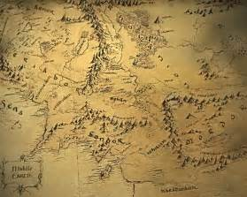 tolkien map middle earth waiting for a new hobbit explore maps of middle earth geoawesomeness