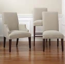 Softening and relaxing dining room chairs with arms