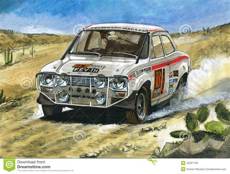 ford mk1 1970 to mexico rally editorial