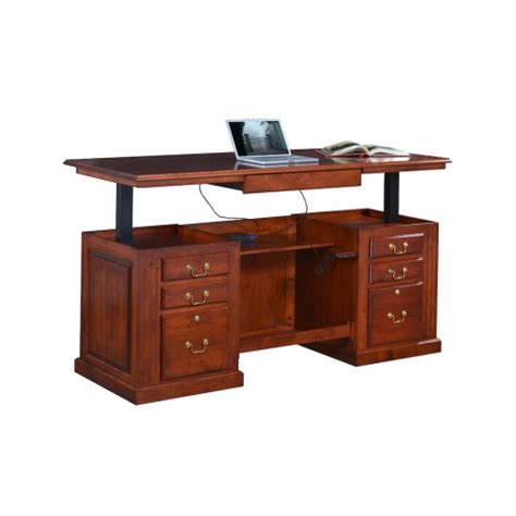 sit stand executive desk standing desks sit stand executive desk
