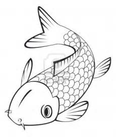 koi fish drawing color koi fish coloring pages
