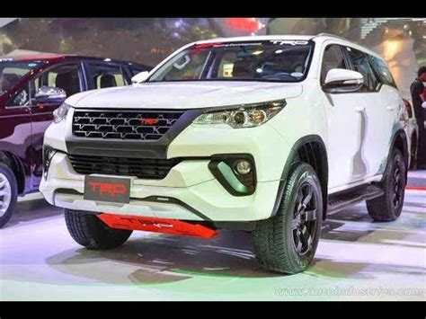 2018 toyota fortuner trd sportivo edition with detailed
