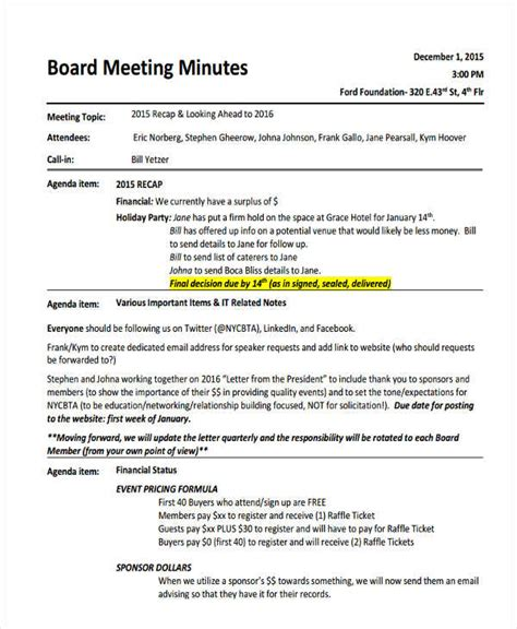 informal meeting minutes template 28 images minutes of