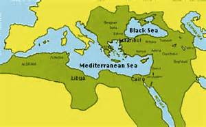 Ottoman Empire Largest Borders 17th Century By Continent