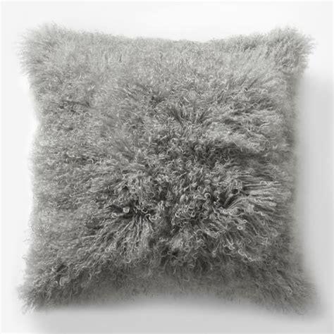 mongolian pillow cover platinum square west elm