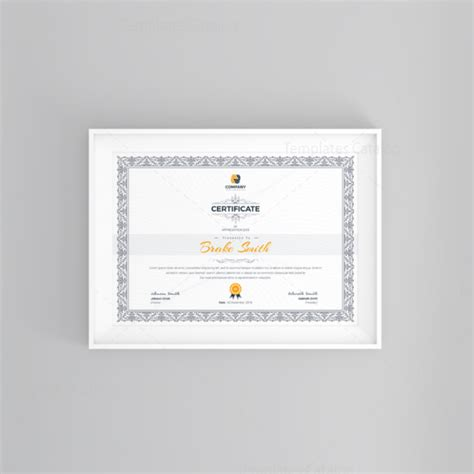 Top Seller Certificate Templates by Best Seller Professional Certificate Template 001121