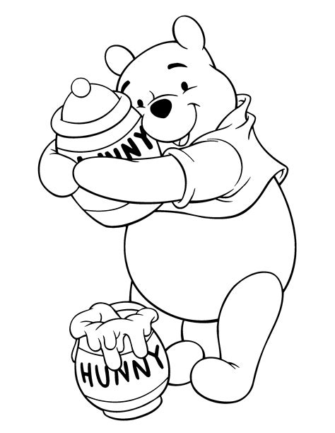 coloring book pages winnie the pooh free coloring pages of winnie pooh baby